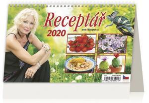 Obrázok Receptář - stolní kalendář 2020