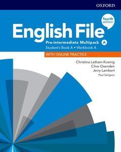 Obrázok English File Fourth Edition Pre-Intermediate Multipack A