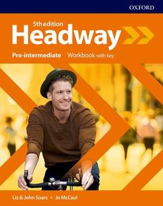 Obrázok New Headway Fifth Edition Pre-Intermediate Workbook with Answer Key