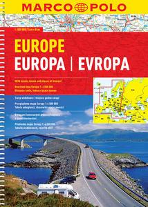 Obrázok Evropa autoatlas 1:800T