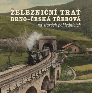 Obrázok Železniční trať Brno – Česká Třebová na starých pohlednicích