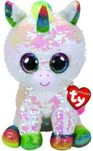Obrázok Beanie Boos Flippables Pixy bílý jednorožec 24 cm