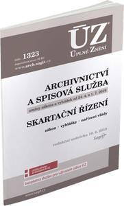 Obrázok ÚZ 1323 Archivnictví a spisová služba, Skartační řízení