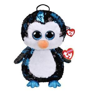 Obrázok Ty Fashion Sequins batůžek s otočnými flitry Waddles tučňák