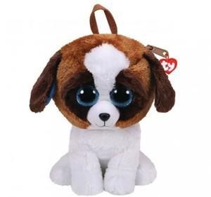 Obrázok Ty Fashion batůžek Duke hnědo/bílý pes