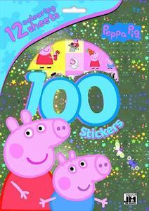 Obrázok 100 samolepek Peppa Pig