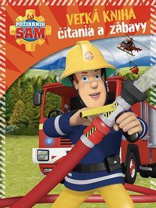 Obrázok Požiarnik Sam Veľká kniha čítania a zábavy