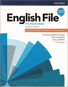 Obrázok English File Fourth Edition Pre-Intermediate  (Czech Edition)