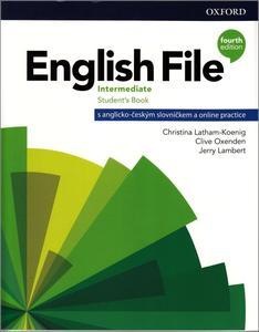Obrázok English File Fourth Edition Intermediate  (Czech Edition)