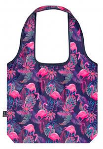 Obrázok Skládací nákupní taška Plameňáci