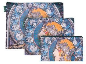 Obrázok Set 3 taštiček Mucha Zodiac