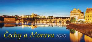 Obrázok Čechy a Morava 2020 - stolní kalendář
