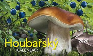 Obrázok Houbařský kalendář 2020 - stolní kalendář