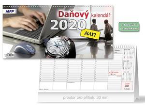 Obrázok Čtrnáctidenní MAXI - stolní kalendář 2020