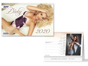 Obrázok Dívky - stolní kalendář 2020