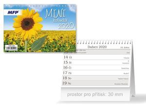 Obrázok Mini - stolní kalendář 2020