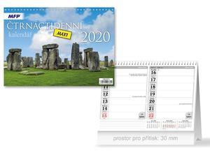 Obrázok Česko/slovenský - stolní kalendář 2020