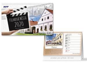 Obrázok DISNEY Frozen (čtrnáctidenní) - stolní kalendář 2020