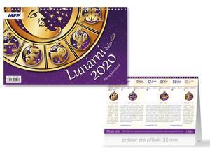 Obrázok Lunární - stolní kalendář 2020