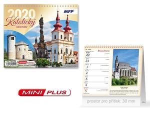 Obrázok Mini Katolický - stolní kalendář 2020