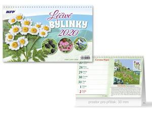 Obrázok Léčivé bylinky - stolní kalendář 2020