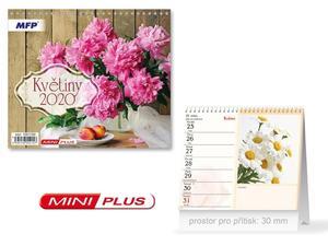 Obrázok Mini Květiny - stolní kalendář 2020