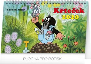 Obrázok Krteček - stolní kalendář 2020