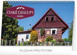 Obrázok České chalupy - stolní kalendář 2020