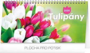 Obrázok Tulipány řádkový 2020 - stolní kalendář 2020