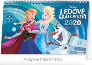 Obrázok Frozen – Ledové království - stolní kalendář 2020