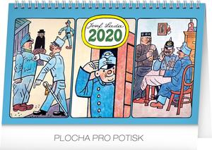 Obrázok Josef Lada Švejk - stolní kalendář 2020