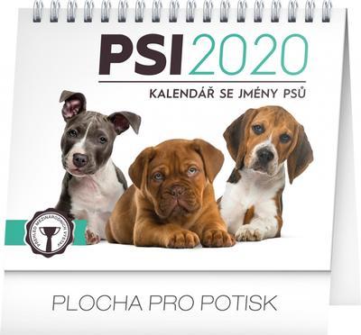 Obrázok Psi – se jmény psů - stolní kalendář 2020 (,)