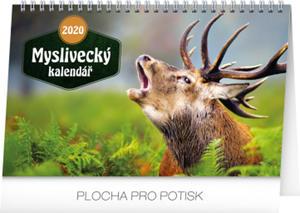 Obrázok Myslivecký kalendář - stolní kalendář 2020