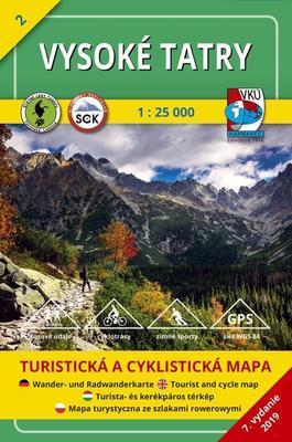 Obrázok Vysoké Tatry 1:25 000