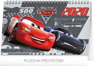 Obrázok Auta 3 - stolní kalendář 2020