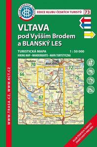 Obrázok KČT 73 Vltava pod Vyšším Brodem a Blanský les