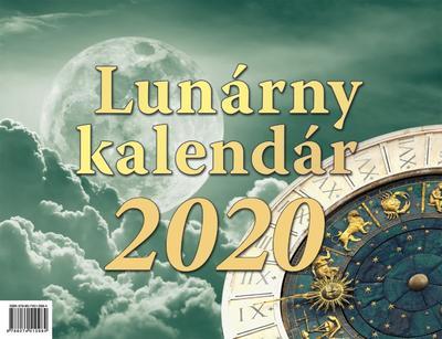 Obrázok Lunárny kalendár - stolový kalendár 2020