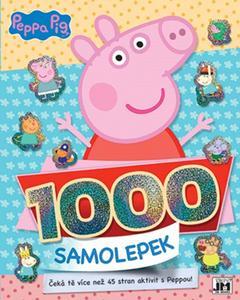 Obrázok Peppa Pig 1000 samolepek