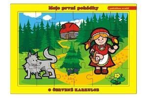 Obrázok Puzzle deskové O červené Karkulce 24 dílků