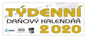 Obrázok Daňový týdenní kalendář - stolní kalendář 2020