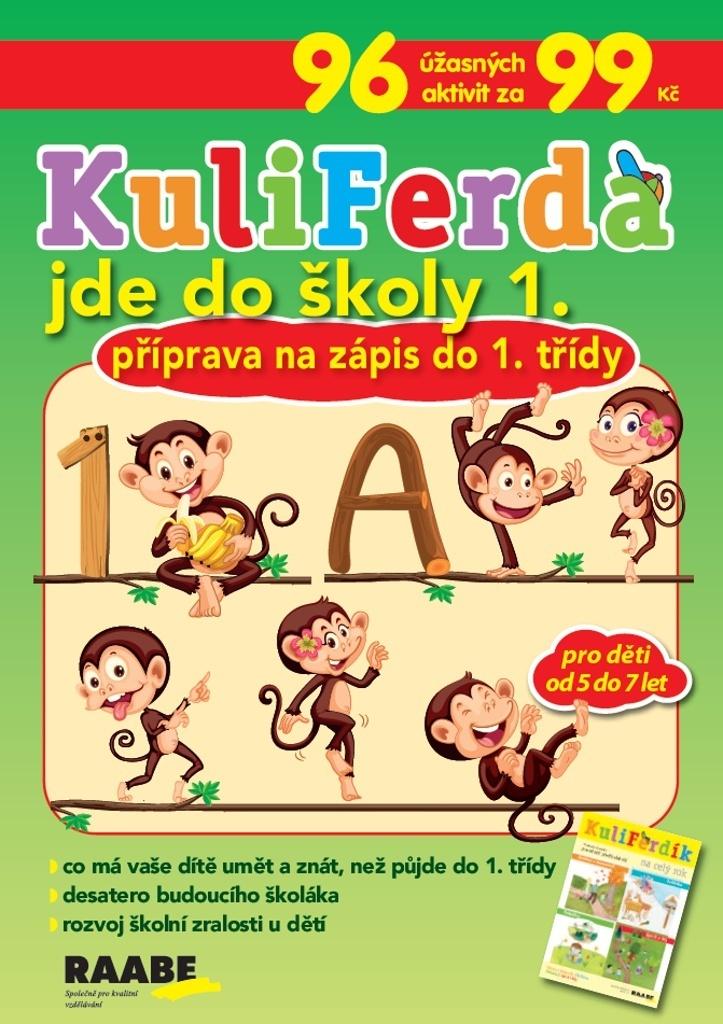 KuliFerda jde do školy 1.