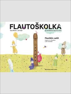Flautoškolka Flautíkův sešit pro děti
