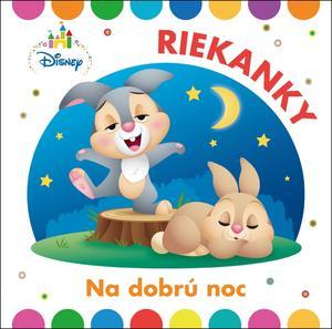 Obrázok Disney Riekanky na dobrú noc
