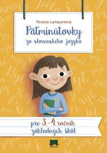 Obrázok Päťminútovky zo slovenského jazyka pre 3. - 4. ročník