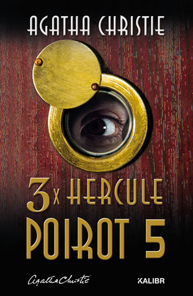 3x Hercule Poirot 5 - Agatha Christie
