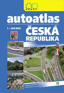 Obrázok Autoatlas ČR 1:240 000 A5 2019