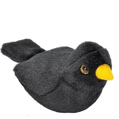 Obrázok Hrající plyšový ptáček Kos