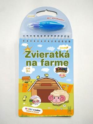 Obrázok Zvieratka na farme Kúzelné obrázky