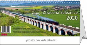 Obrázok Ztracená železnice - stolní kalendář 2020