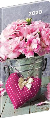 Obrázok Vreckový diár Kvety 2020 (Plánovací mesačný)